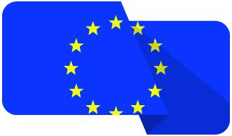 Drapeau européen - Frenchy Transport. Votre partenaire routier