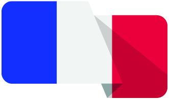 Drapeau français - Frenchy Transport. Votre partenaire routier